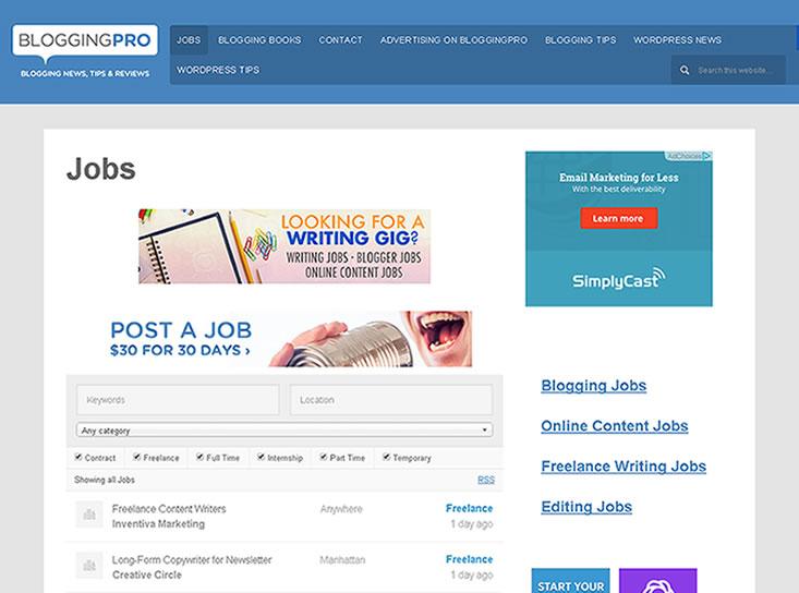 bloggingpro-com-jobs new