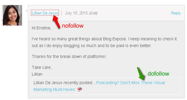 commentlu enabled dofollow blogs