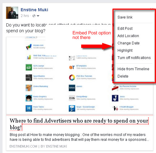 increase social shares facebook no embed