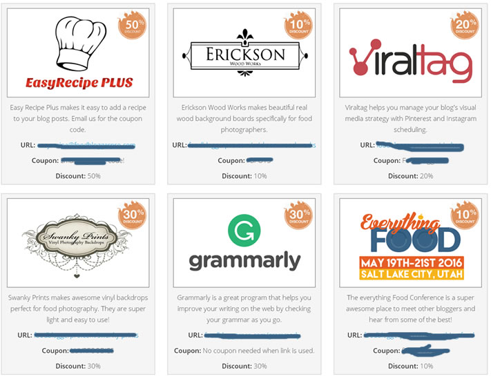 food blog special deals