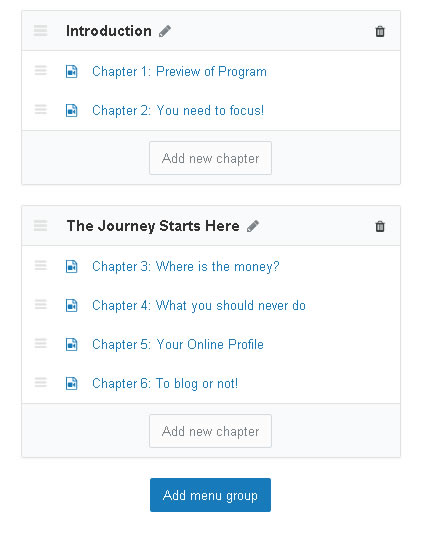 uscreen chapters