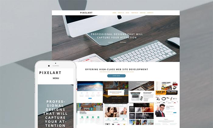 Website Design WordPress Theme