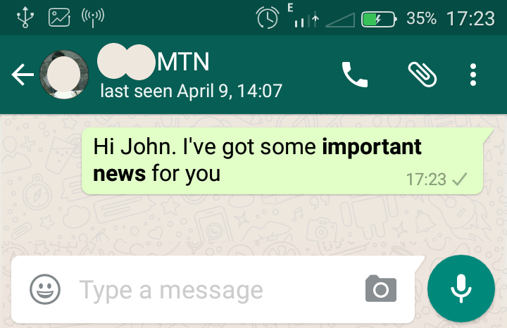 how to format whatsapp messages