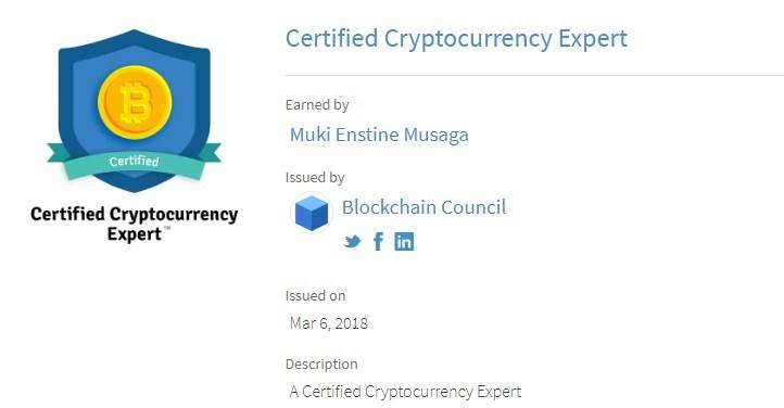 cryptocurrency certification