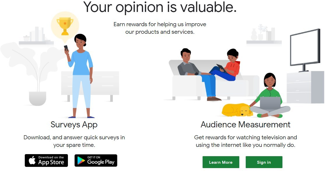 make money online with Google reward
