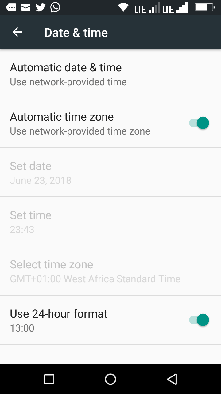 WhatsApp phone date is inaccurate ~ EXACT STEPS to fix this error!