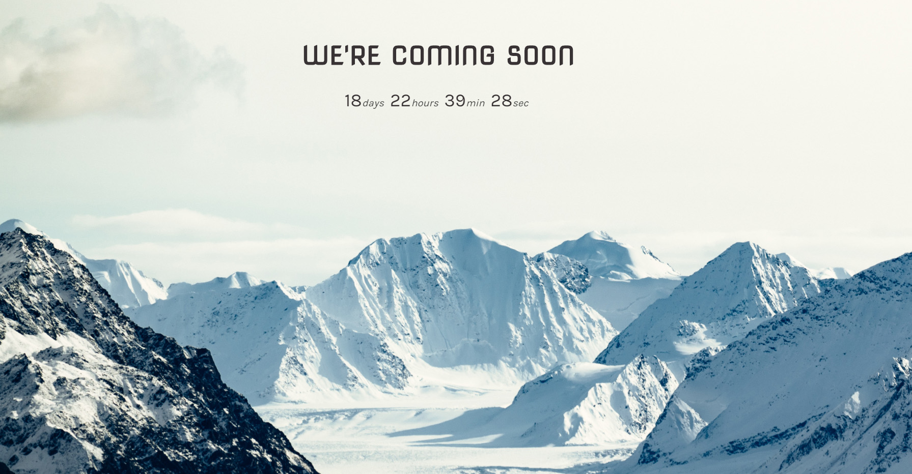 Coming Soon page in WordPress