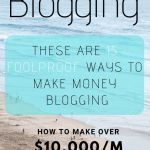 How bloggers make money blogging in 15 ways ~ $10,000/m and more!