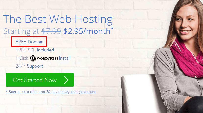 free dot com domain name