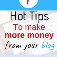 how to makre more money blogging