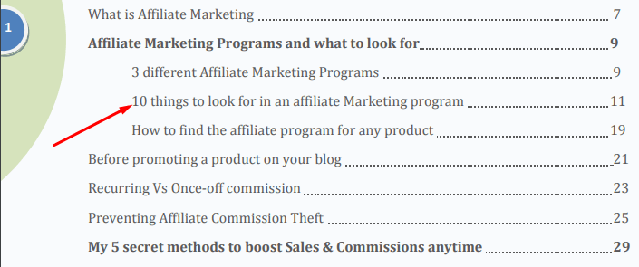 affiliate marketing pillars
