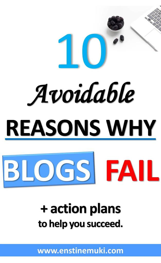 why blogs fail - pin image