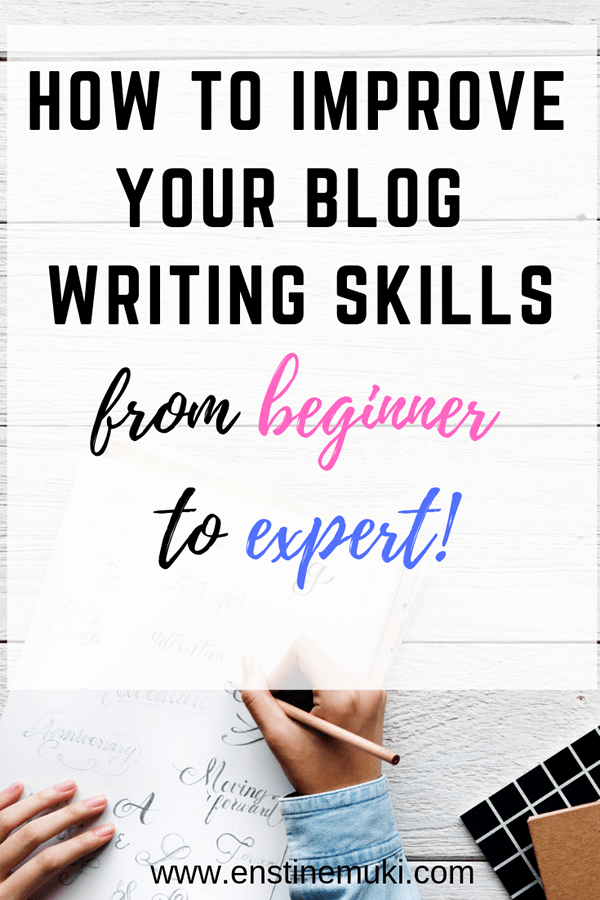 Do you want to improve your writing skills? This is an excellent post on writing tips for beginners and writing tips for beginning bloggers. This post will help with writing inspiration