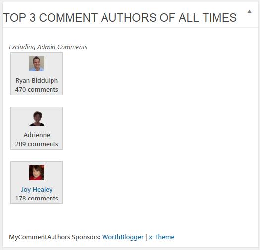 comment authors