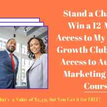 Giveaway Business Growth Club