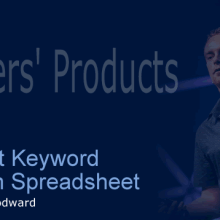 Intelligent Keyword Ressearch spreadsheet