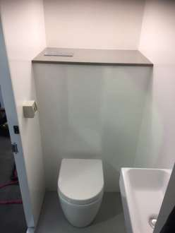 Portable bathroom unit - inside