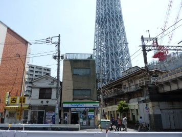 Tokyo Sky Tree and old structures