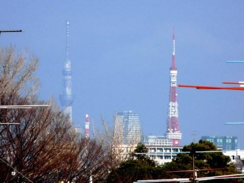 Tokyo Sky Tree and Tokyo 2nd Jan. 2012