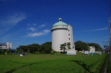 Kuriyama water supply tower at 2km