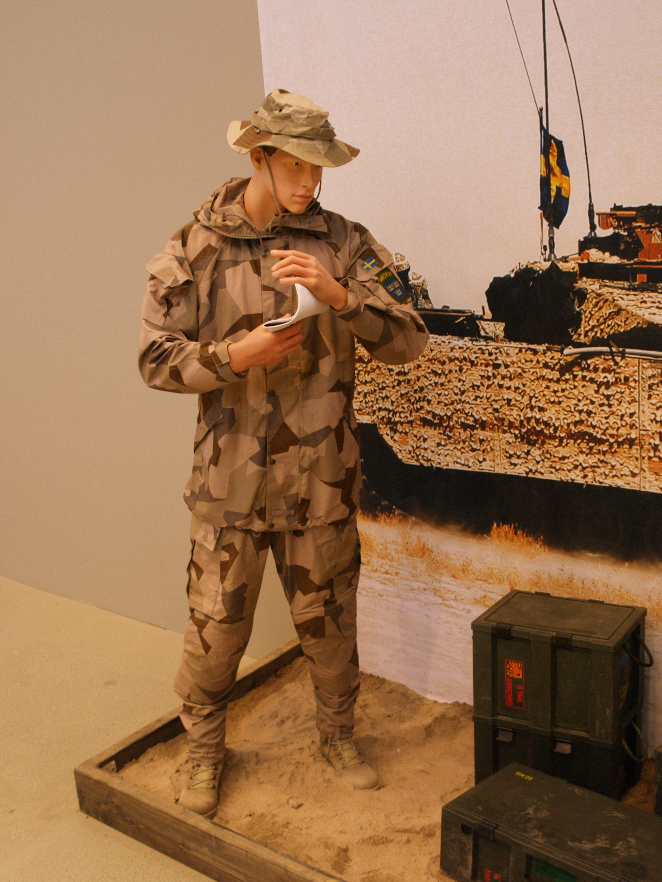 Swedish Army Camouflage En Svensk Tiger En Britt