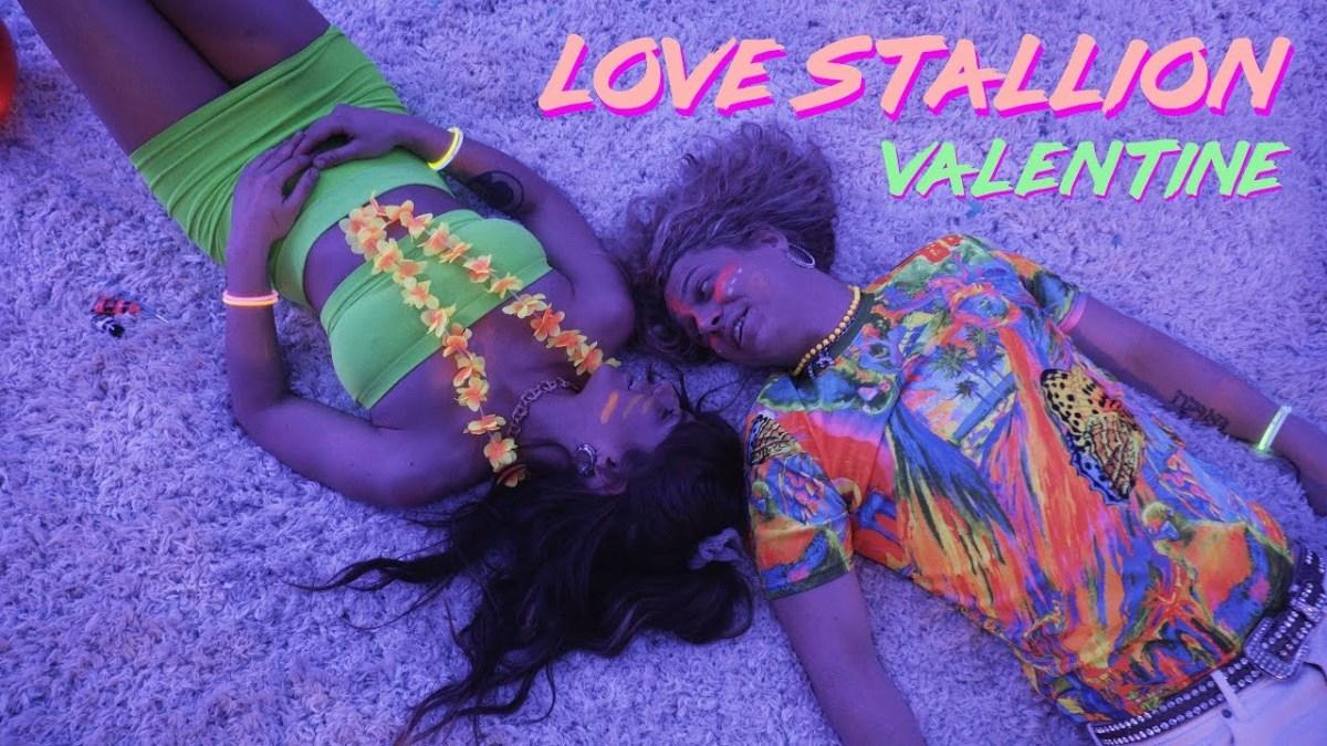 Love Stallion Valentine COVER