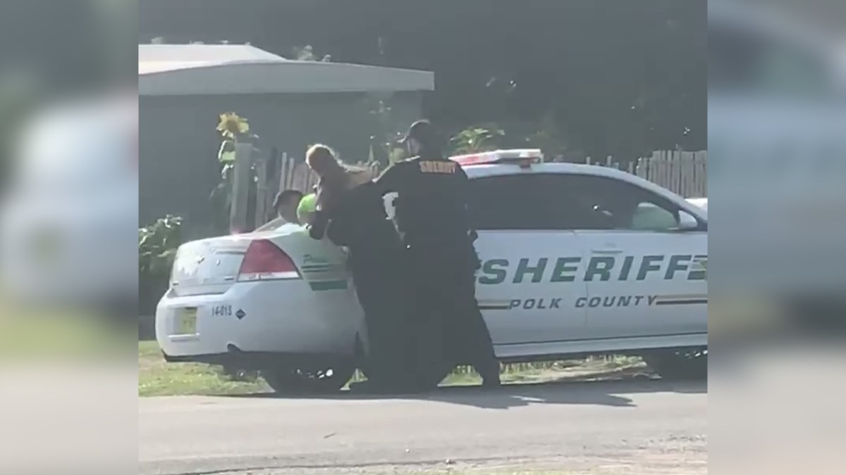 [Florida] Polk County Sheriff punches man twice while in handcuffs.