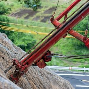 吊り式鉄筋挿入工
