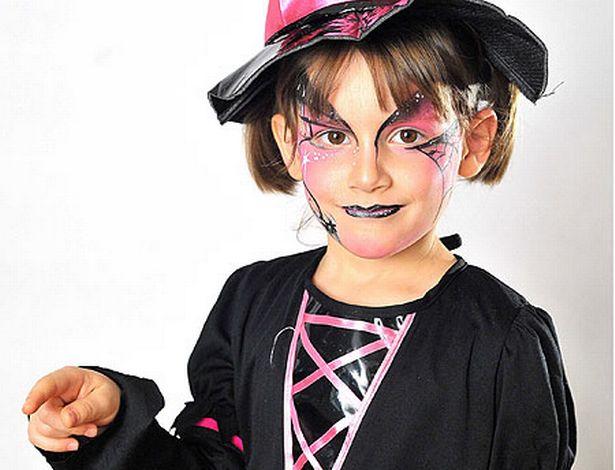 ハロウィンメイクの子供用の簡単なやり方(仮装用も)!猫・魔女も紹介