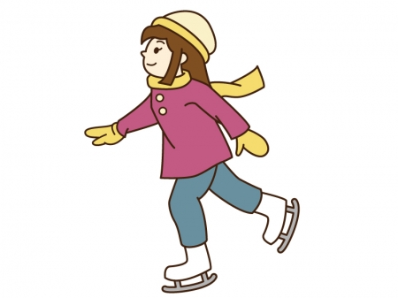 アイススケートの服装・格好と持ち物!注意点や暖かさ・安全性が大事?