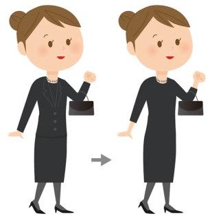夏の喪服の女性のマナーや選び方!ワンピースのみや半袖はいいの?