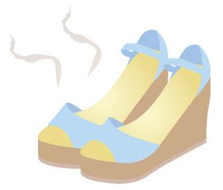 サンダルが臭い時の取り方・消す方法・対策!予防法や理由や原因も