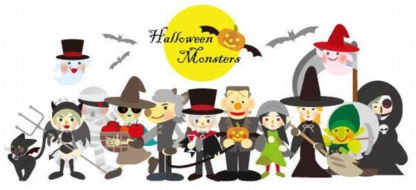 ハロウィンのモンスター・キャラクター・おばけの種類や名前一覧!仮装も