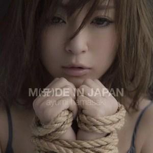 浜崎あゆみ アルバム『M(A)DE IN JAPAN』<CD+Blu-ray>ジャケ写