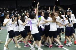 第2回AKB48グループチーム対抗大運動会より ©AKS