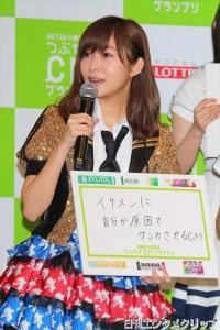 「HKT48vs欅坂46 つぶやきCMグランプリ」開催発表記者会見より
