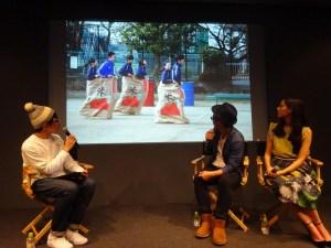 「Meet the Filmmaker@Apple, Ginza」トークイベントより