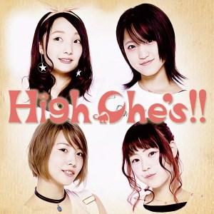 HighChe's!! 会場限定発売 CD「HighChe's!!」ジャケ写