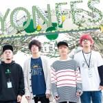 名古屋野外春フェス<YON FES 2017>、第1弾出演アーティストを発表!