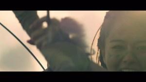 PlayStation®4専用ソフトウェア『Horizon Zero Dawn』 山本舞香さん起用プロモーション動画「Horizon Zero Dawn ハンターの決意」より
