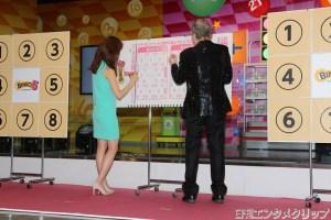 数字選択式宝くじ「ビンゴ5」発売記念イベントより