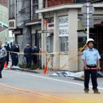 富山市で警察官が刃物で刺され拳銃奪われる!小学校前で発砲!!警察官と警備員が死亡