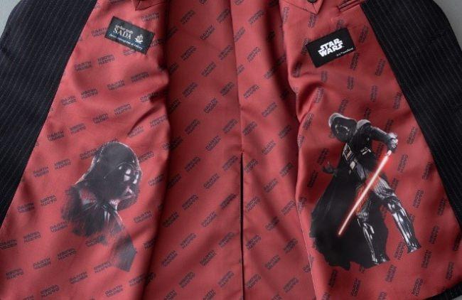 ~コラボ裏地スーツが「オーダースーツSADA」から登場~「スター・ウォーズ」裏地発売のお知らせ