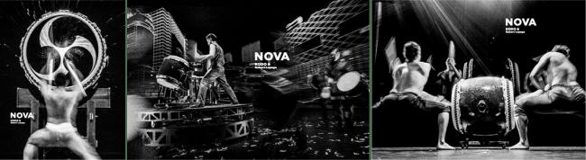 太鼓と創造力がつくりだす、新・視聴体感芸術、鼓童×ロベール・ルパージュ〈NOVA〉2019年12月15日(日)、チケット一般販売開始