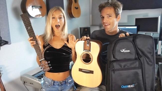 新発想のトラベルギター、 Journeyトラベルバッグギターのオンラインストアが12月19日にオープン。