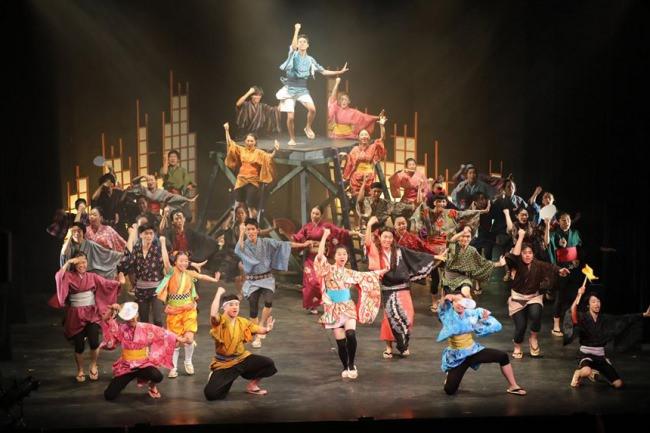 クラーク記念国際高等学校のパフォーマンスコースが2月13〜16日に大型舞台公演「OINARI」を公開。