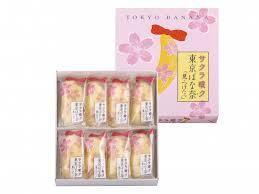 「サクラ咲ク 東京ばな奈「見ぃつけたっ」桜香るバナナ味」イメージ