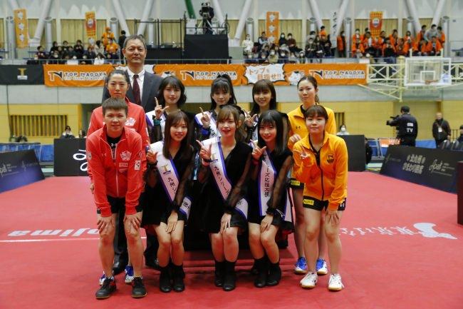 卓球のTリーグ×LinQ 九州シリーズ応援大使就任式無事完了!賞品盛り沢山キャンペーンは本日試合開始まで!