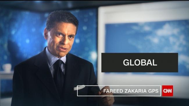 CNNで不動の人気「ファリード・ザカリアGPS」特別番組を3夜連続放送