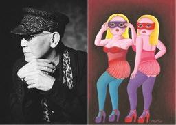 原宿のレジェンド・79歳の現代アーティスト MOMO YAMA個展のご案内